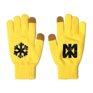 [NP] SNOW FLOWER GLOVES YELLOW (NP18A109H)