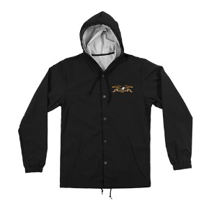 [Anti Hero] STOCK EAGLE HOODED COACHES JACKET - BLACK