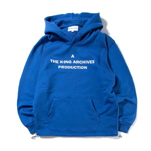 [KING]STAFF Pullover Hoodie -Blue