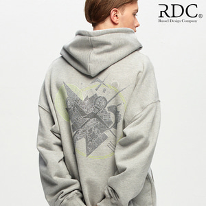 [RDC] KANDINSKY CIRCLE SHAPES GREY HOODIE