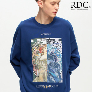 [RDC] GODDESS MIDNIGHT-NAVY SWEAT SHIRTS