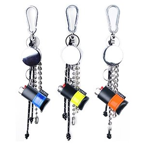[RUNDS] reflect lighter wire keyring (3color)