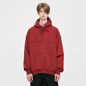 [D.PRIQUE] Oversized Hoodie - Red