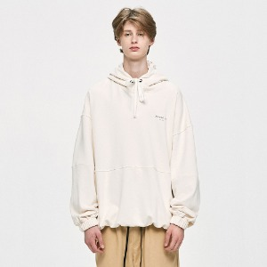 [D.PRIQUE] Oversized Hoodie - Ivory