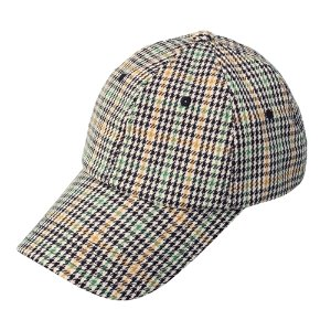 [RUNDS] hound tooth check cap