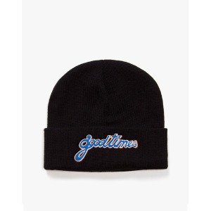 [have a good time] Good Time Beanie - Black