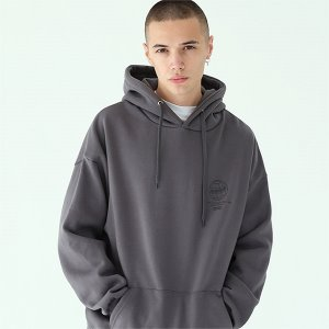 [TENBLADE] NYC captain hoodie-dark-gray