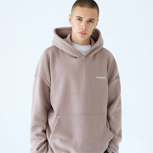 [TENBLADE] Over fit hunter knit hoodie-beige
