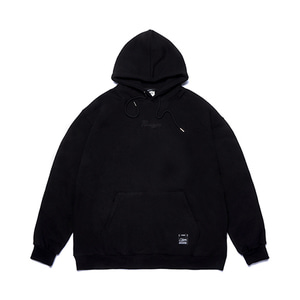 [STIGMA]PARAGON OVERSIZED HEAVY SWEAT HOODIE - BLACK