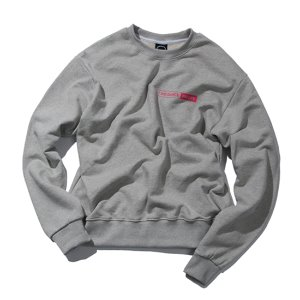 [KRUCHI] NO DANCE NO LIFE CREWNECK (Gray)