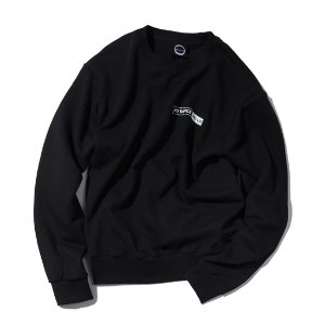 [KRUCHI] NO DANCE NO LIFE CREWNECK (Black)