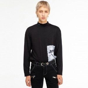 [THEGREATEST] GT19WINTER 01 Printing Turtleneck