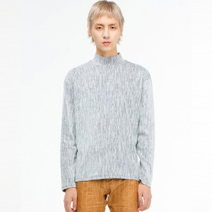 [THEGREATEST] GT19WINTER 02 Stripe Turtleneck WHITE