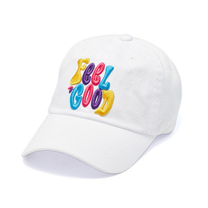[STIGMA]MULTIPLE COLOR WASHED BASEBALL CAP - WHITE
