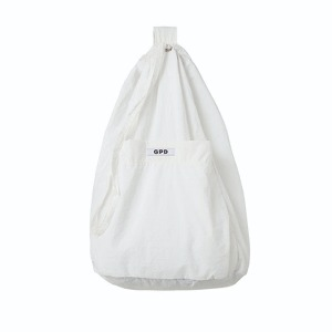 [GPD] GPD 0010A WHITE BAG (WATER REPELLENT)