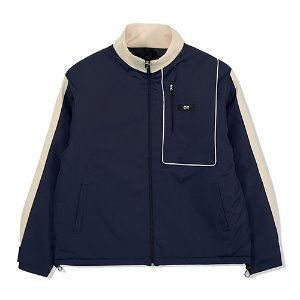 [OY] PIPING BLOCK TRACK JACKET-NAVY