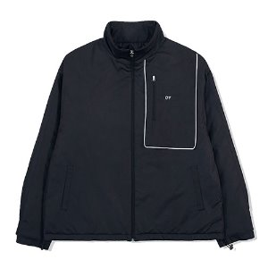 [OY] PIPING BLOCK TRACK JACKET-BLACK