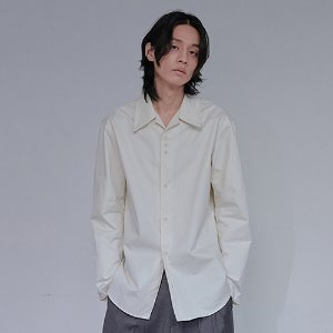 [XYZ] UNISEX 3.1.1 WIDE COLLAR SHIRT - IVORY