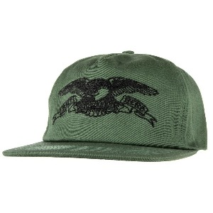 [Anti Hero] BASIC EAGLE Snapback Hat - GREEN/BLACK