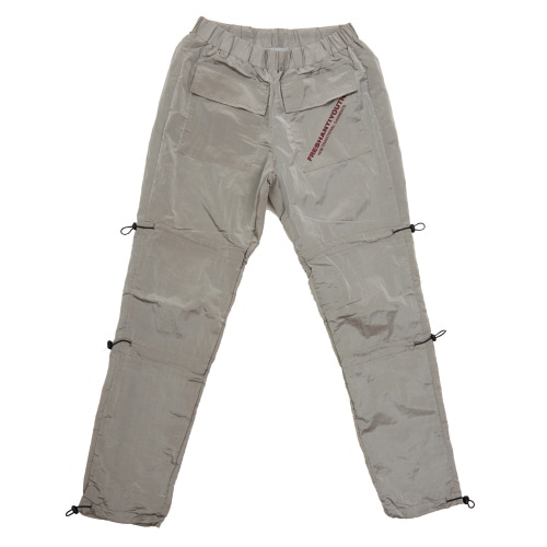 [Fresh anti youth] STRING WARM UP PANTS - GREY