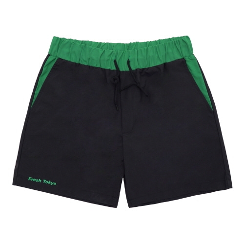 [Fresh anti youth] Surf Short Pants - Black
