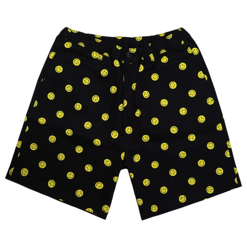 [FRAY x SMILEY] SMILE  DOT SHORTS PANTS - BLACK