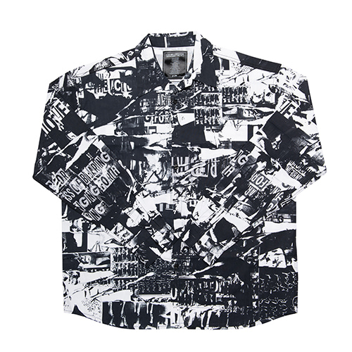 TORN PICTURES ALL PRINT SHIRTS - O/C
