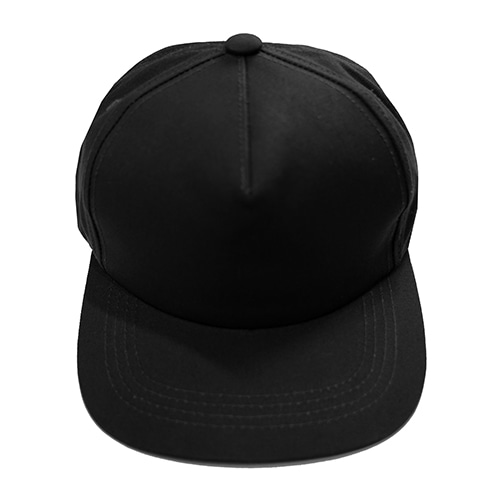 5 PANEL SNAP BACK - BLACK