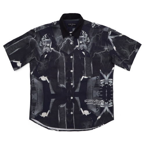 [18SS] MADNESS BOWLING SHIRTS - BLACK