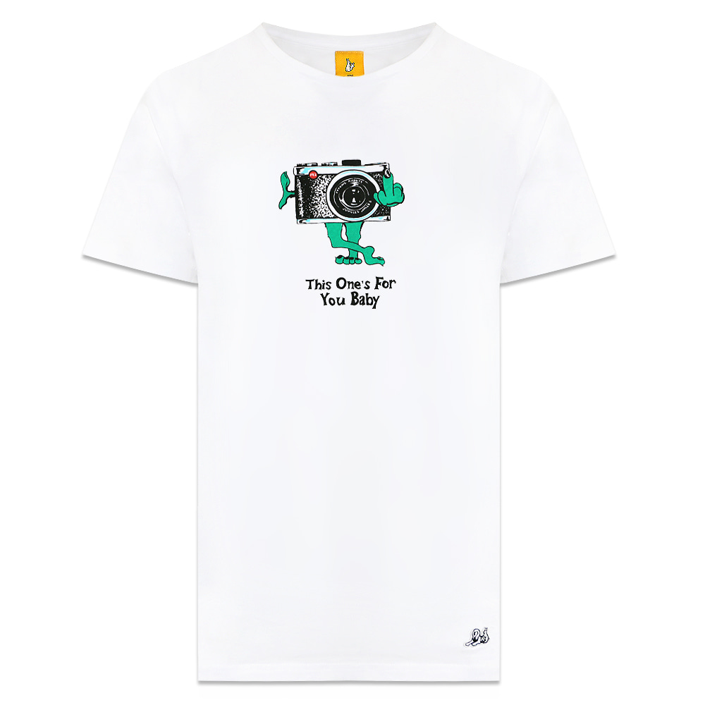 [Jungles] THIS ONES FOR YOU SHORT TEE - WHITE