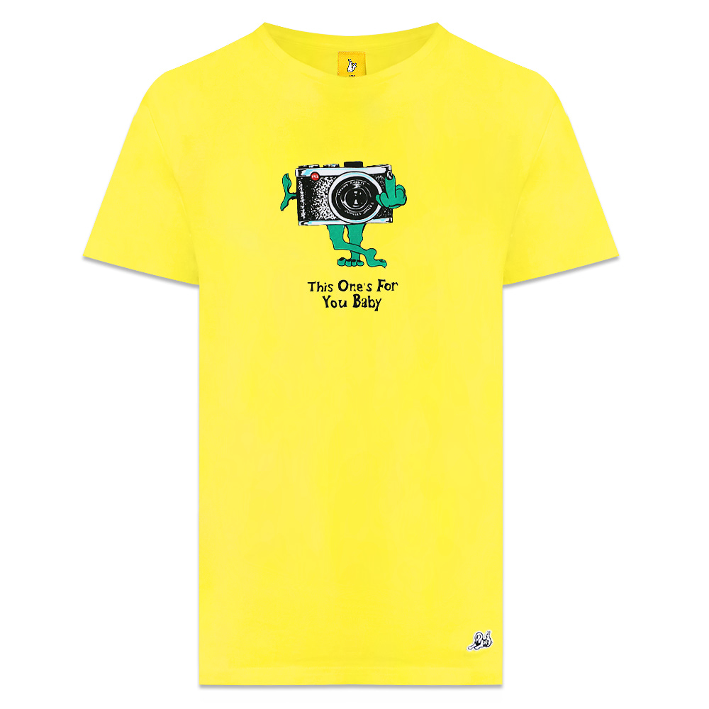 [Jungles] THIS ONES FOR YOU SHORT TEE - YELLOW